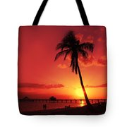 Romantic Sunset Tote Bag by Melanie Viola