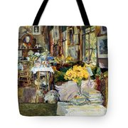 Room Of Flowers, 1894 Tote Bag by Granger