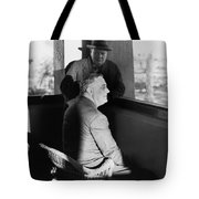 Roosevelt And Churchill Tote Bag by Granger