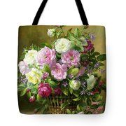 Roses  Tote Bag by Albert Williams
