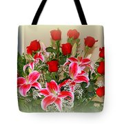Rose's Tote Bag by Athala Carole Bruckner