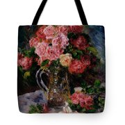 Roses Tote Bag by Pierre Auguste Renoir