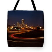 Round The Bend Tote Bag by Jonas Wingfield