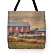 Route 419 Barn Tote Bag by Lori Deiter