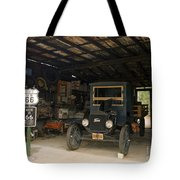 Route 66 Garage, 2009 Tote Bag by Granger
