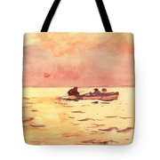 Rowing Home Tote Bag by Winslow Homer