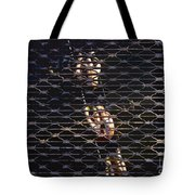 Rowing Through The Grate Tote Bag by David Lee Thompson