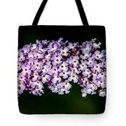 Rows And Flows Of Angel Flowers Tote Bag by John Haldane