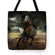 Run Like the Wind Tote Bag by Shanina Conway