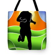 Run Tote Bag by Stephen Younts