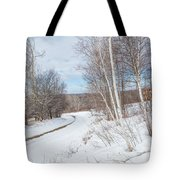 Rural Roads Tote Bag by Bill Wakeley
