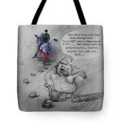 Rush Limbaugh After Obama  Tote Bag by Ylli Haruni