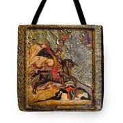 Russian Icon: Demetrius Tote Bag by Granger