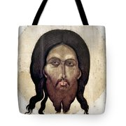 Russian Icon: The Savior Tote Bag by Granger