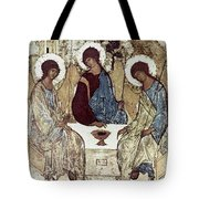 Russian Icons: The Trinity Tote Bag by Granger