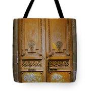 Rustic French Door Tote Bag by Georgia Fowler