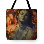 Rustle Tote Bag by Dorina  Costras