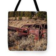 Rusty Automobile Tote Bag by Sue Smith