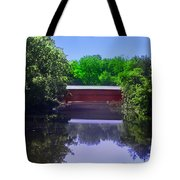 Sachs Covered Bridge In Gettysburg  Tote Bag by Bill Cannon
