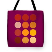Saffron Colors Tote Bag by Frank Tschakert