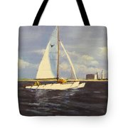 Sailing in the Netherlands Tote Bag by Jack Skinner