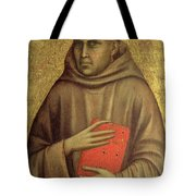 Saint Anthony Abbot Tote Bag by Giotto di Bondone