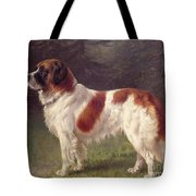 Saint Bernard Tote Bag by Heinrich Sperling