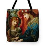Saint Cecilia Tote Bag by John Melhuish Strukdwic