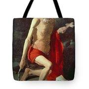 Saint Jerome Tote Bag by Georges de la Tour