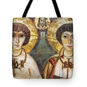 Saints Sergius And Bacchus Tote Bag by Granger