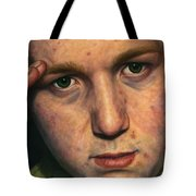 Salute Tote Bag by James W Johnson
