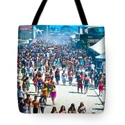Same Shot Curves Tote Bag by Gwyn Newcombe