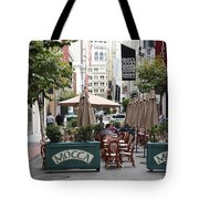 San Francisco - Maiden Lane - Outdoor Lunch At Mocca Cafe - 5d17932 Tote Bag by Wingsdomain Art and Photography