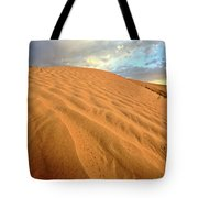 Sand Dune At Great Sand Hills In Scenic Saskatchewan Tote Bag by Mark Duffy