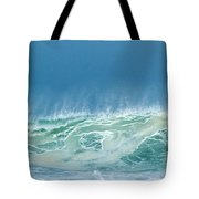 Sandy Wave Tote Bag by Michelle Wiarda