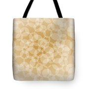 Sanguine Abstract Circles Tote Bag by Frank Tschakert