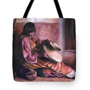 Santa Clara Potter Tote Bag by Nancy Griswold