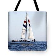 Santa Cruz Sailing Tote Bag by Marilyn Hunt