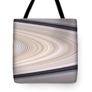 Saturns Ring System Tote Bag by Stocktrek Images