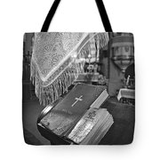 Say A Little Prayer Tote Bag by Evelina Kremsdorf