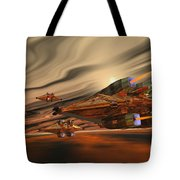 Scadlands Tote Bag by Corey Ford