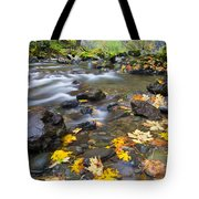 Scattered About Tote Bag by Mike  Dawson