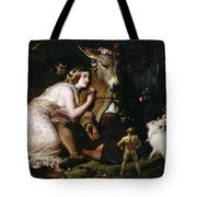 Scene From A Midsummer Night's Dream Tote Bag by Sir Edwin Landseer