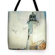 Scituate Light Tote Bag by P Anthony Visco
