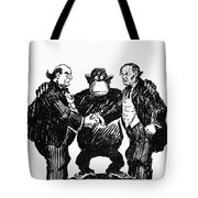 Scopes Trial Cartoon 1925 Tote Bag by Granger
