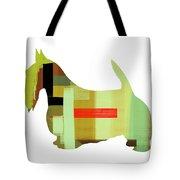 Scottish Terrier Tote Bag by Naxart Studio
