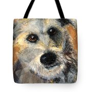 Scruffy Tote Bag by Arline Wagner