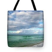 Sea And Sky - Florida Tote Bag by Sandy Keeton