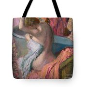 Seated Bather Tote Bag by Edgar Degas
