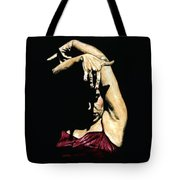 Seclusion Del Flamenco Tote Bag by Richard Young